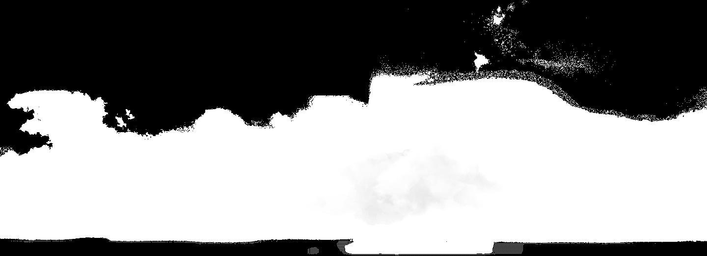 透明的雲朵