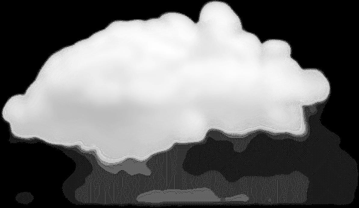 小さな白いフワフワの雲