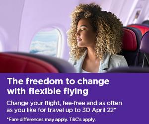 Flex flying - half price flights