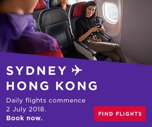 Sydney to Hong Kong. Find flights.